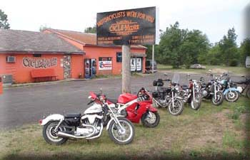 Cycle-Moore Independent Motorcycle Repair Shop and Campgrounds. Independent Motorcycle Shop, Interlochen Mi.